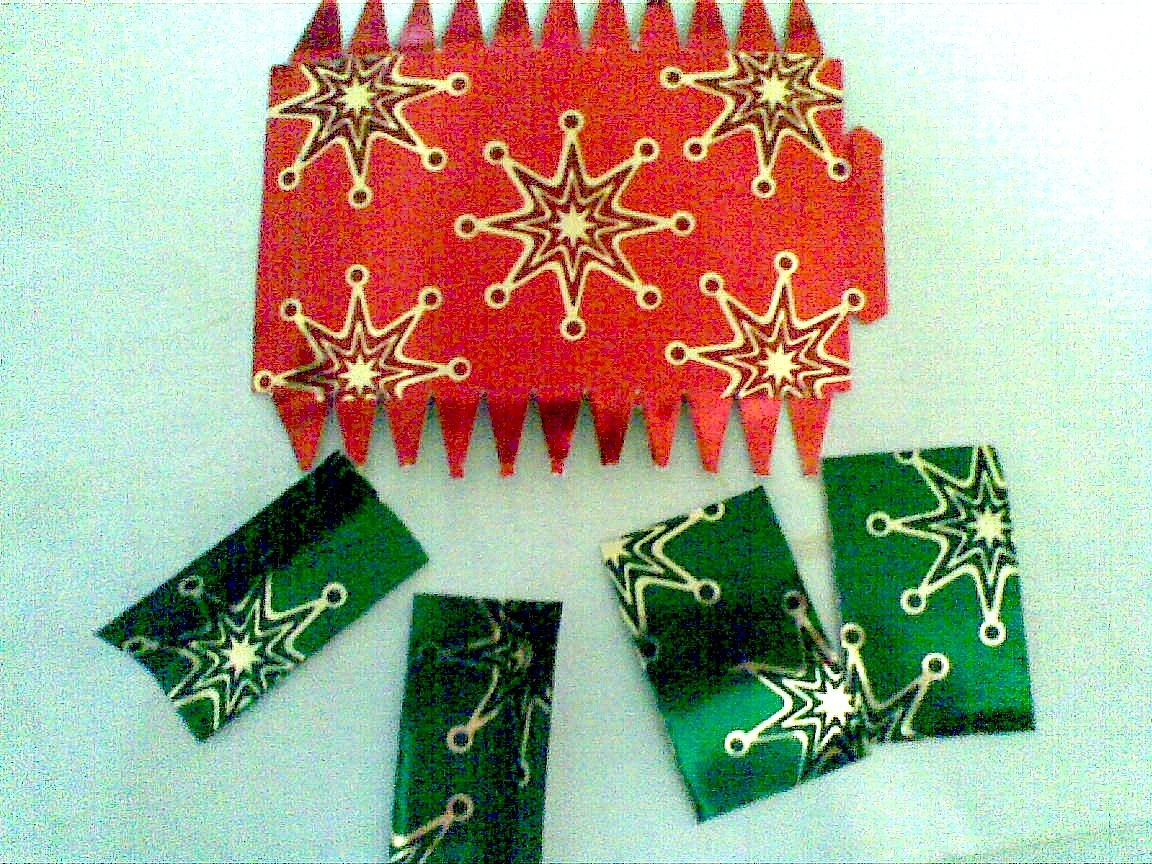 Christmas Decorations 3d Shapes Ks2 : D decorations laminatorsdaughter